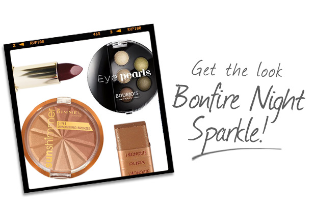 Get The Look – Bonfire Night Sparkle