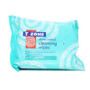 T Zone Shine Control Wipes