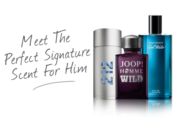 Meet The Perfect Signature Scent for Him