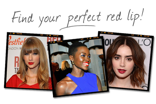 Find Your Perfect Red Lipstick!