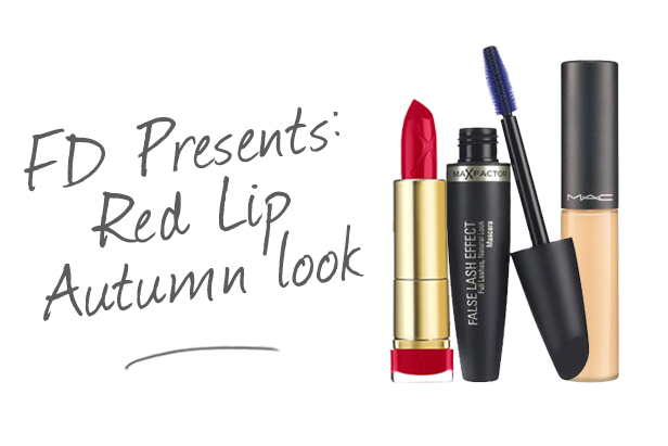 FD Presents: Red Lip Autumn Look