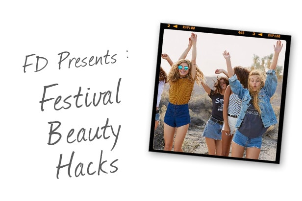 Festival Beauty Hacks