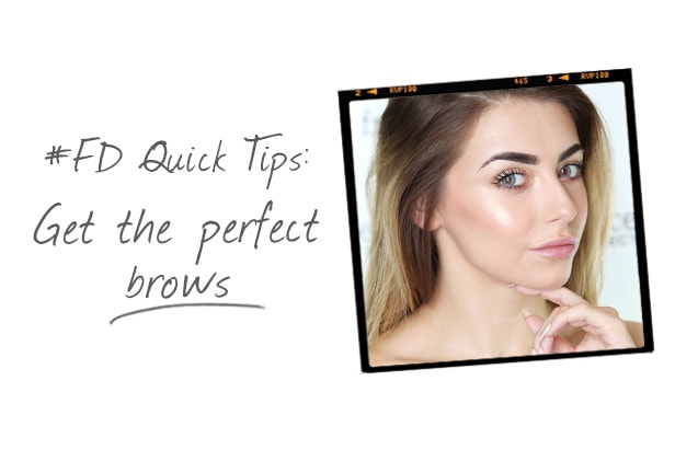 top tips for perfect eye brows