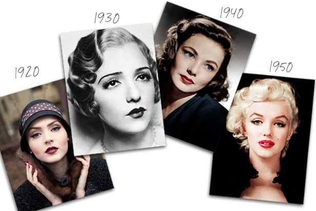 makeup-trends-from-1920-to-1950