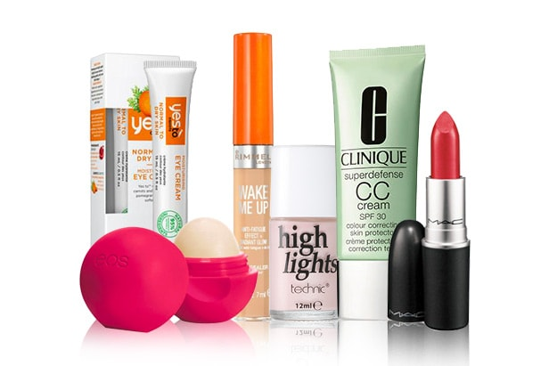 selection of seasonal beauty products