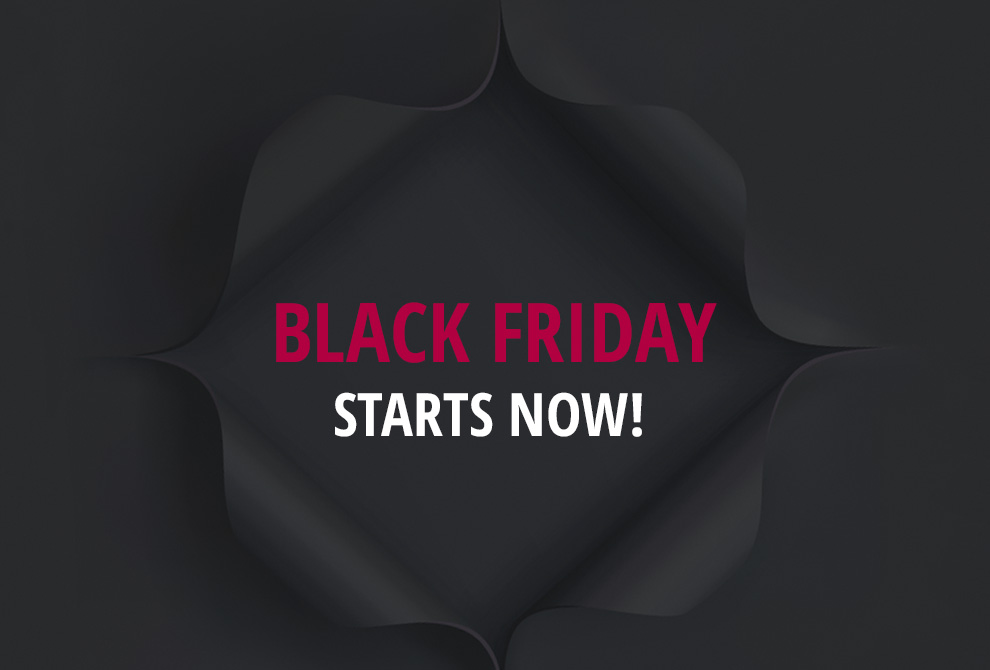 Black Friday Deals Start Here!